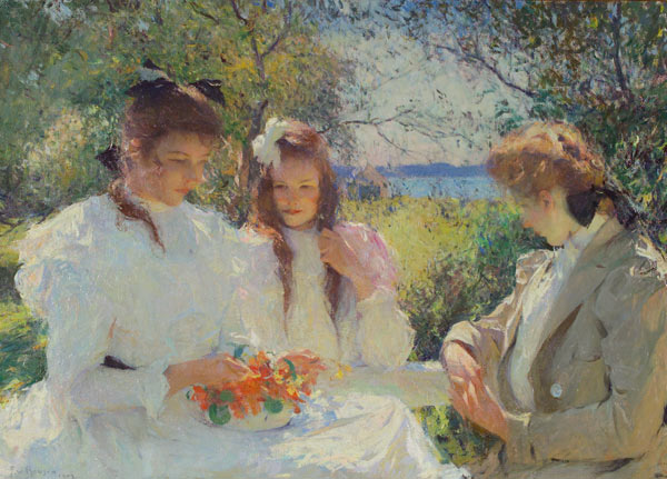 Portrait of My Daughters, 1907