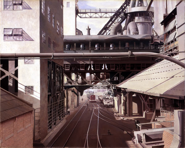 Charles Sheeler, City Interior, 1936