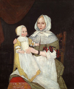 Mrs. Elizabeth Freake and Baby Mary
