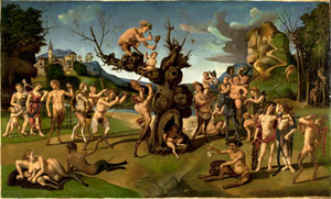The Discovery of Honey by Bacchus