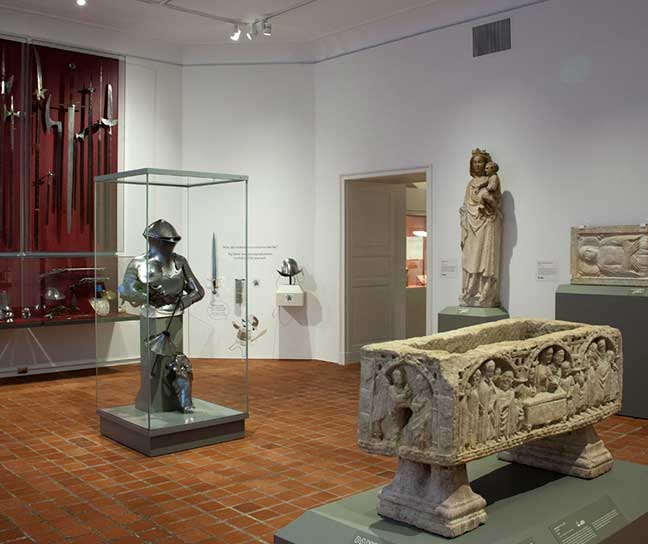 A view of the Medieval Galleries at WAM