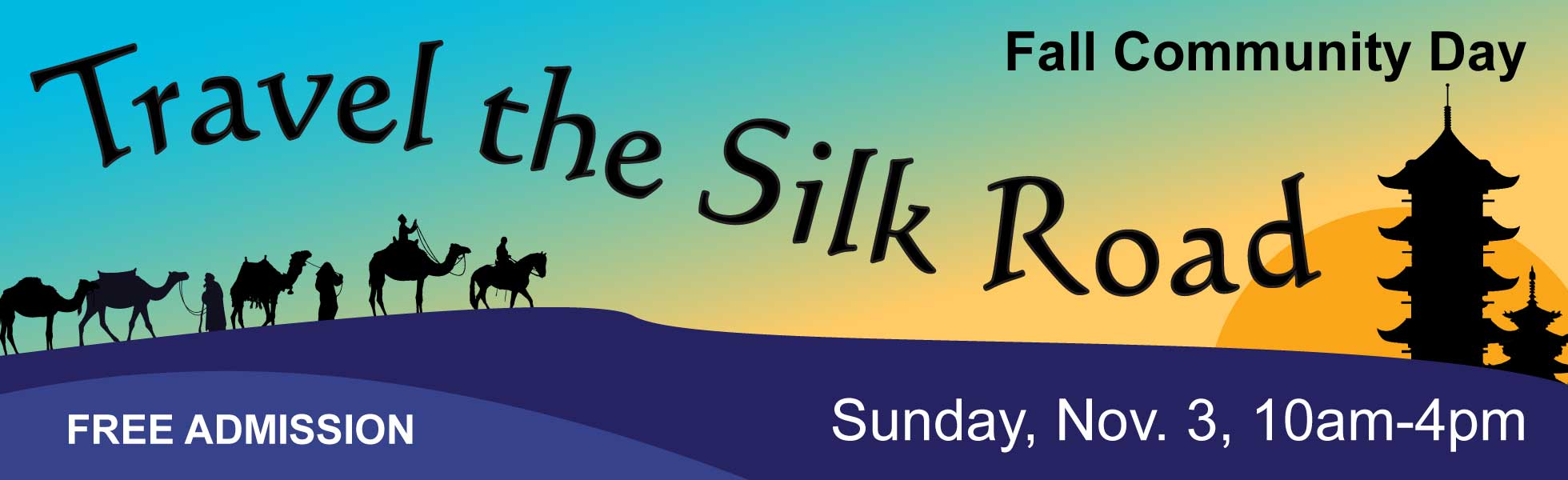 Fall Community Day 2019: Travel the Silk Road