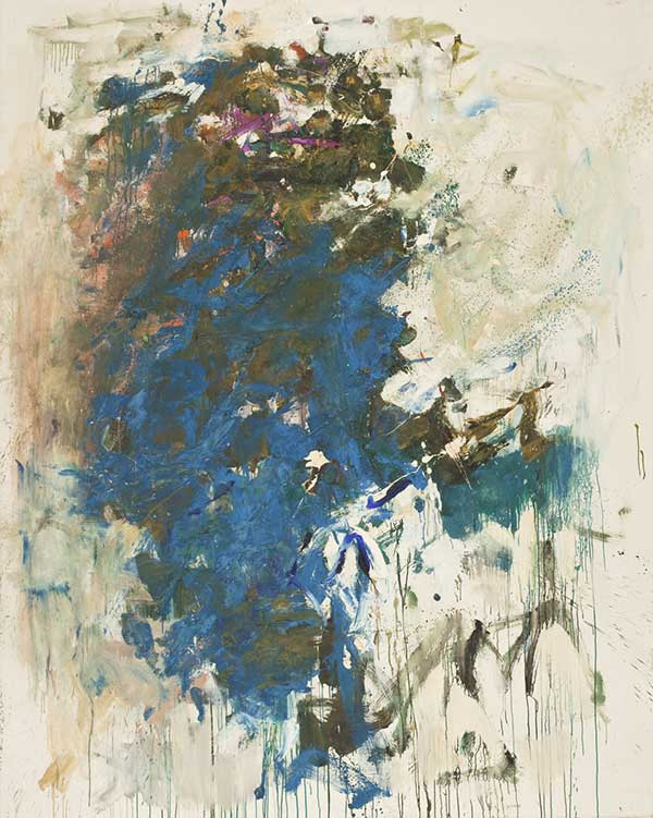 Joan Mitchell, 'Blue Tree', about 1964, oil on canvas