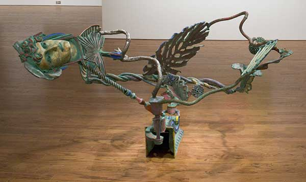 Nancy Graves, 'Laocoön', 1988, stainless steel, bronze, polychrome patina, black enamel
