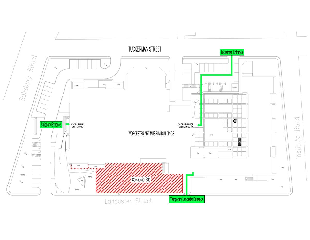 Lancaster Plaza site plan