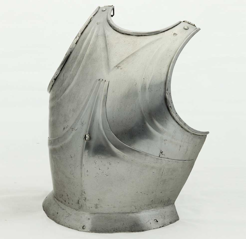 "Southern German or Austrian, 'Breastplate of ""Gothic"" Form', about 1490, steel"