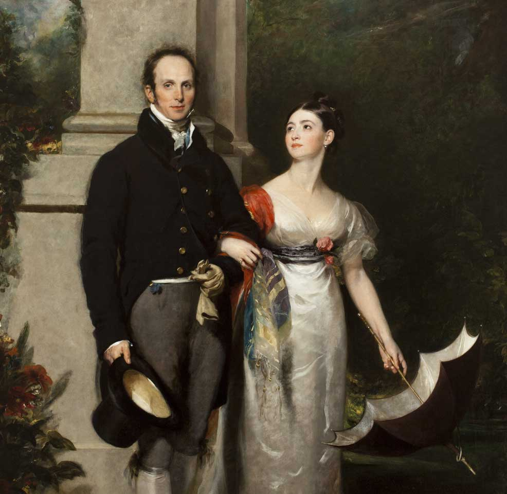 Thomas Lawrence, Mr. and Mrs. James Dunlop, about 1825, oil on canvas